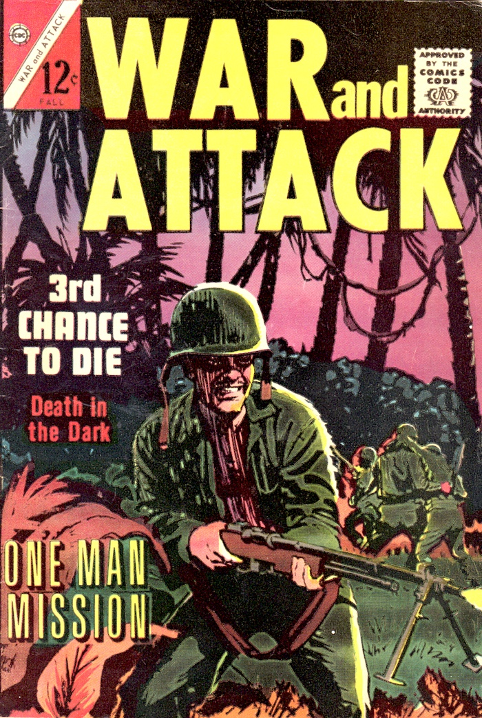 War and Attack #1 – Death in Darkness 1964 by Wally Wood