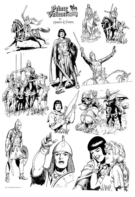 00 Prince Valiant by Hal Foster 1937