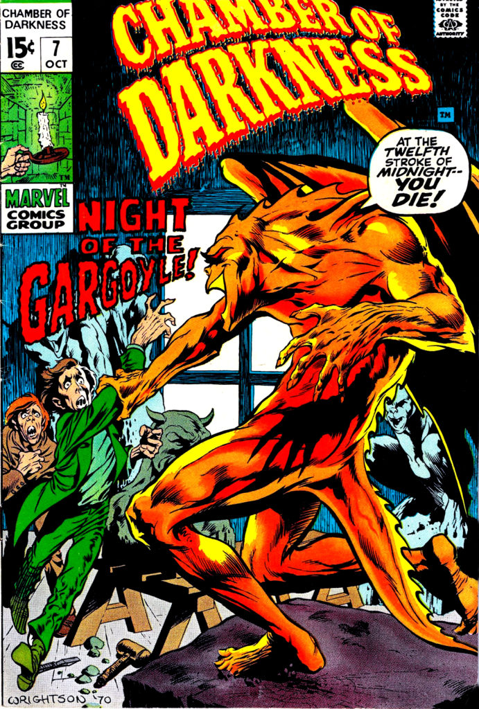 00 this gargoyle tale that originally appeared in the October 1970 issue of Chamber of Darkness 7