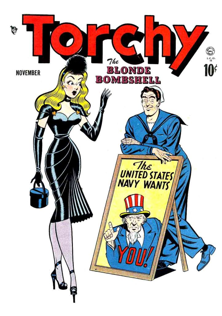 00Torchy 01 The Blonde Bombshell November 1949