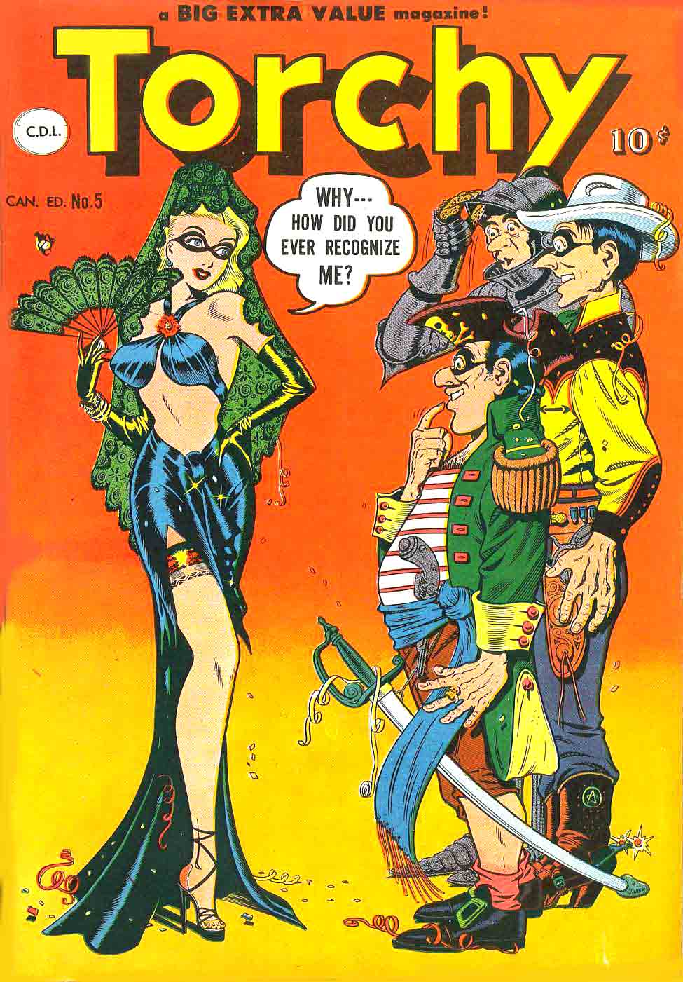 Torchy 05 First part by Bill Ward July 1950