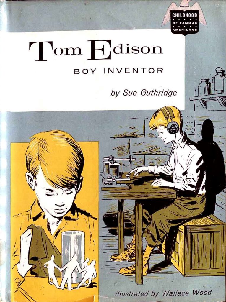 1 Tom Edison Boy Inventor Bobbs Merrill 1959 cover