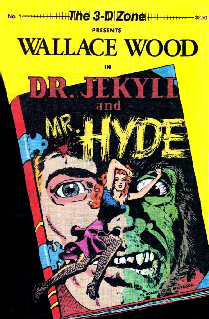 3 D 1 VF Wally Wood 1987 Dr Jekyll and Mr Hyde