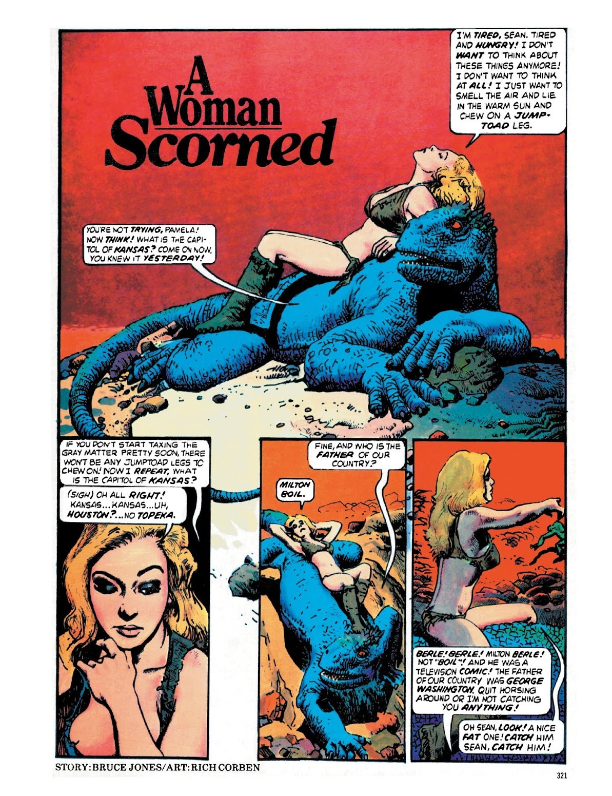A woman scorned From Eerie #90 (February 1978)