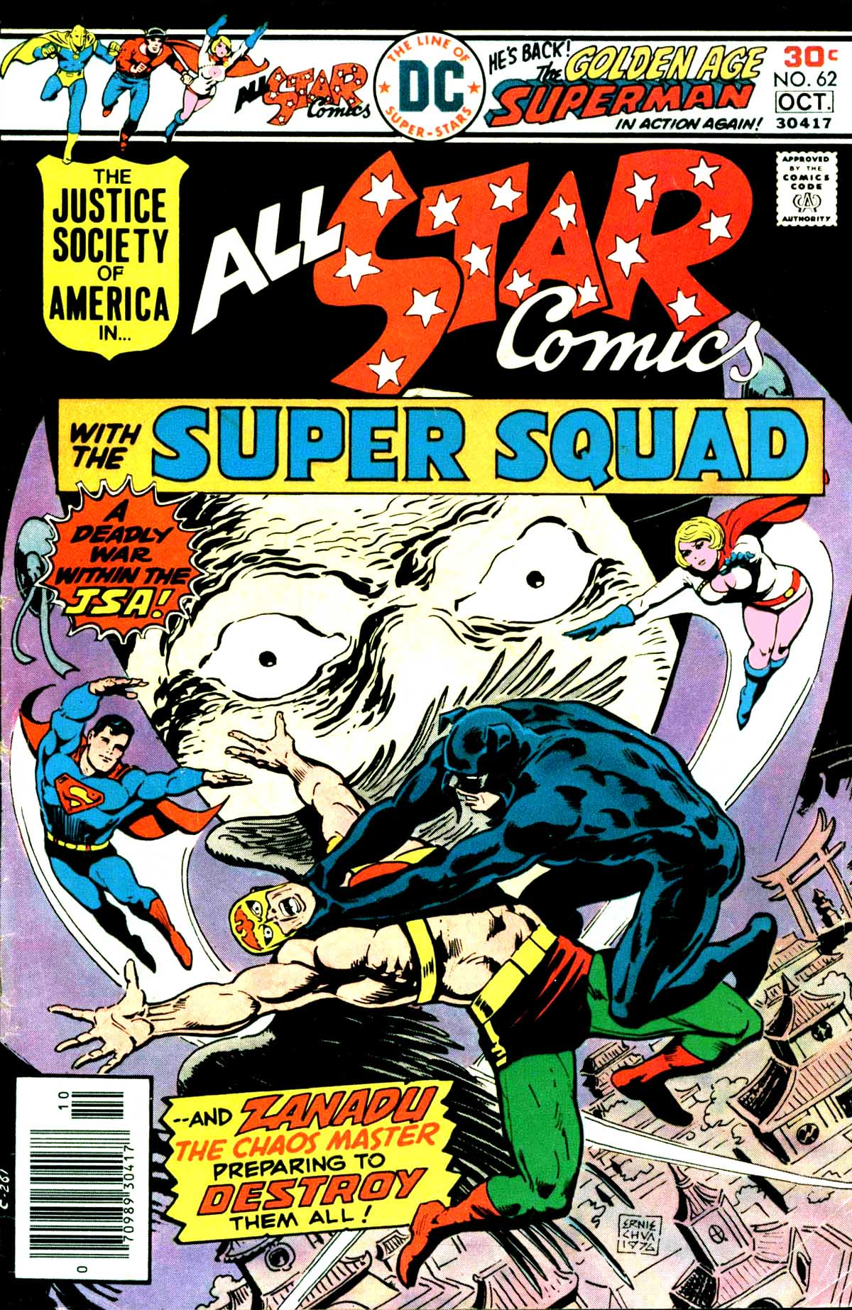 Wood – All Star comics #62 When fall the mighty !