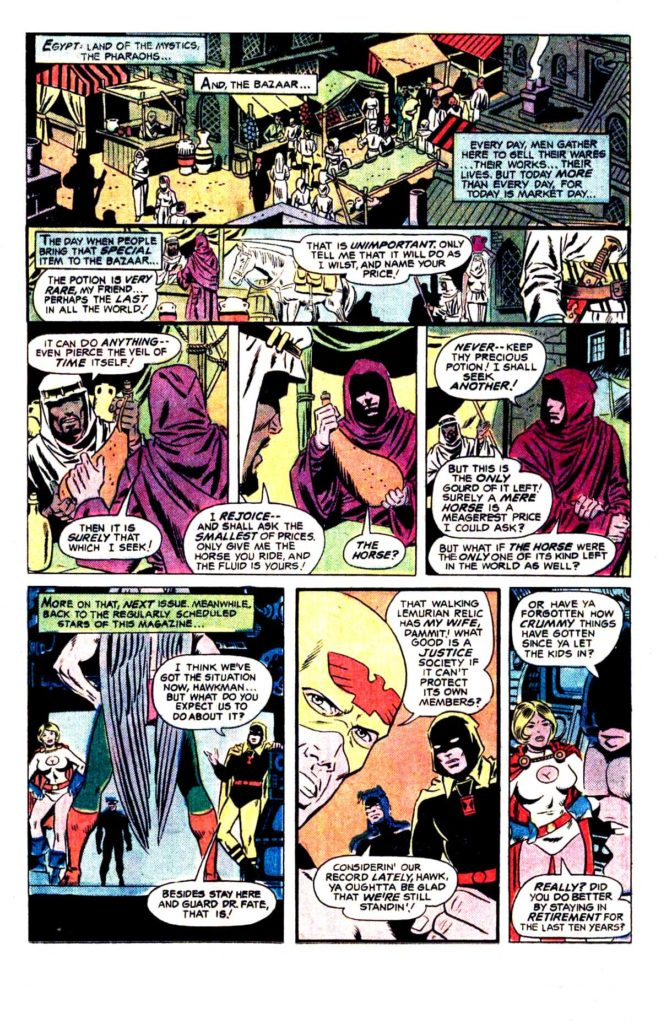 All Star comics 62 When fall the mighty 12