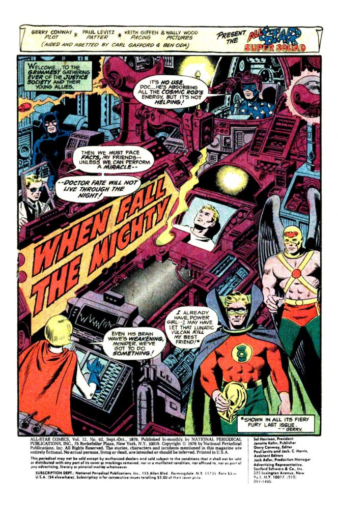 All Star comics 62 When fall the mighty 2
