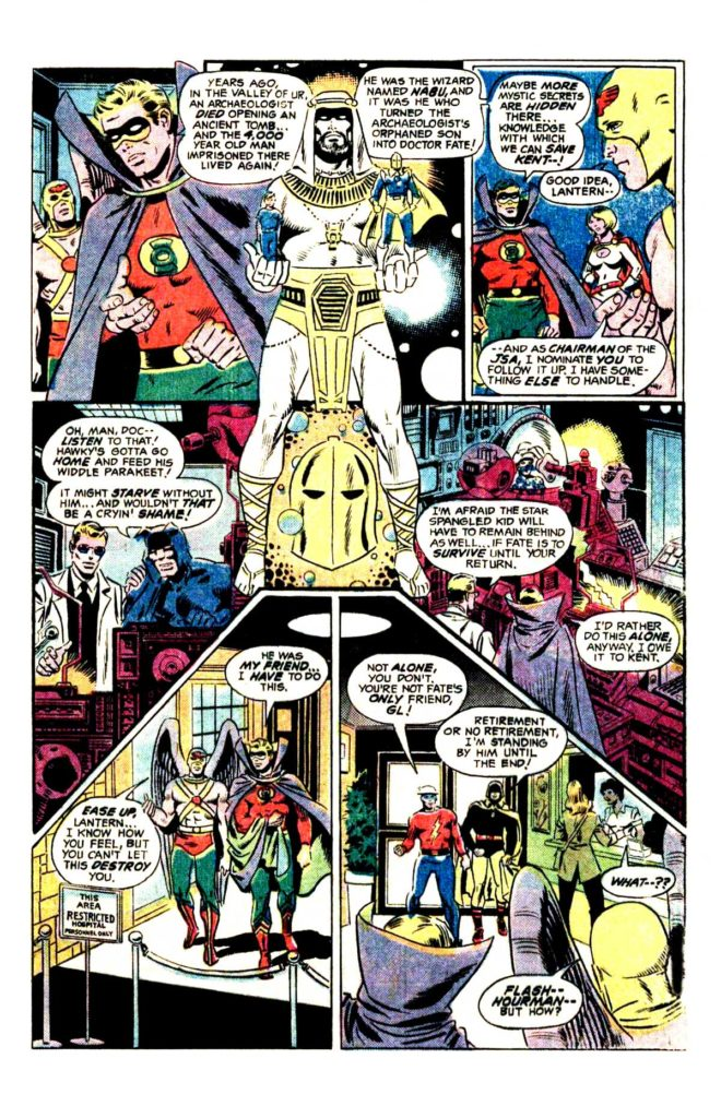 All Star comics 62 When fall the mighty 4