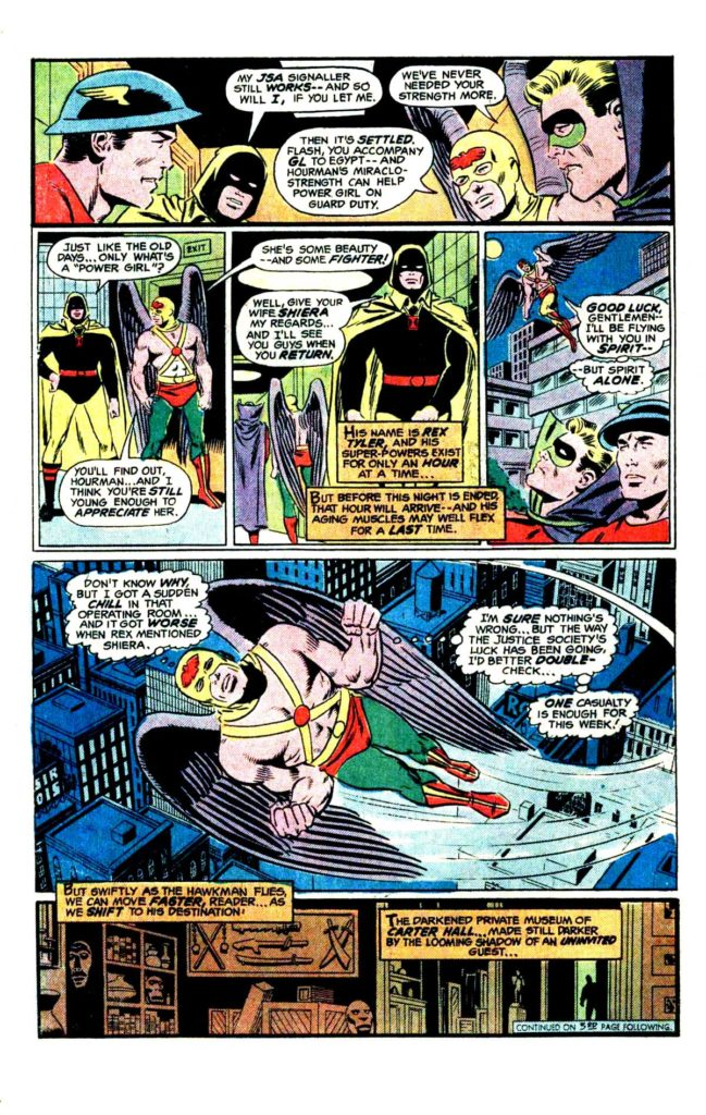 All Star comics 62 When fall the mighty 5
