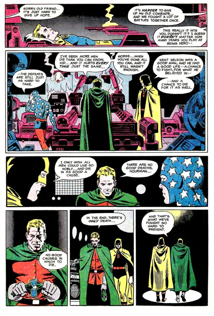 All Star comics 63 The death of doctor Fate 10