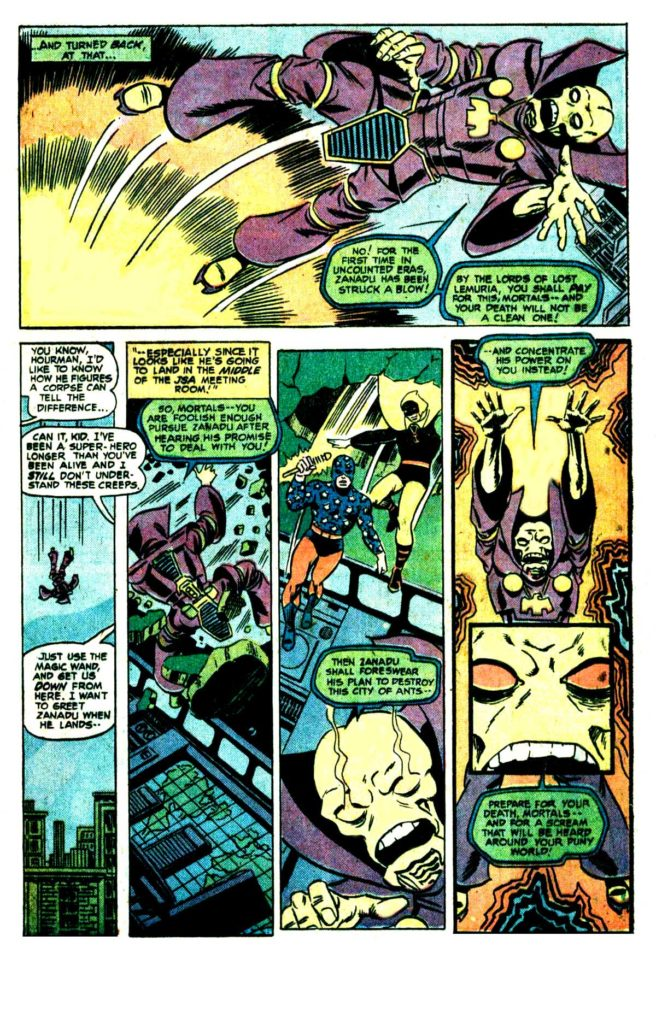 All Star comics 63 The death of doctor Fate 14
