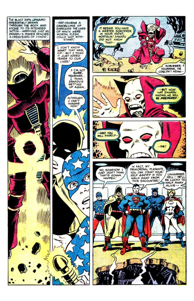 All Star comics 63 The death of doctor Fate 16