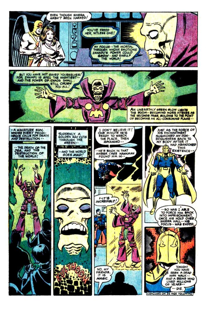 All Star comics 63 The death of doctor Fate 17
