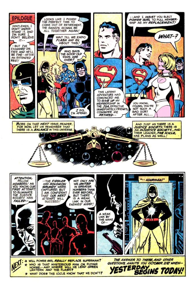 All Star comics 63 The death of doctor Fate 18