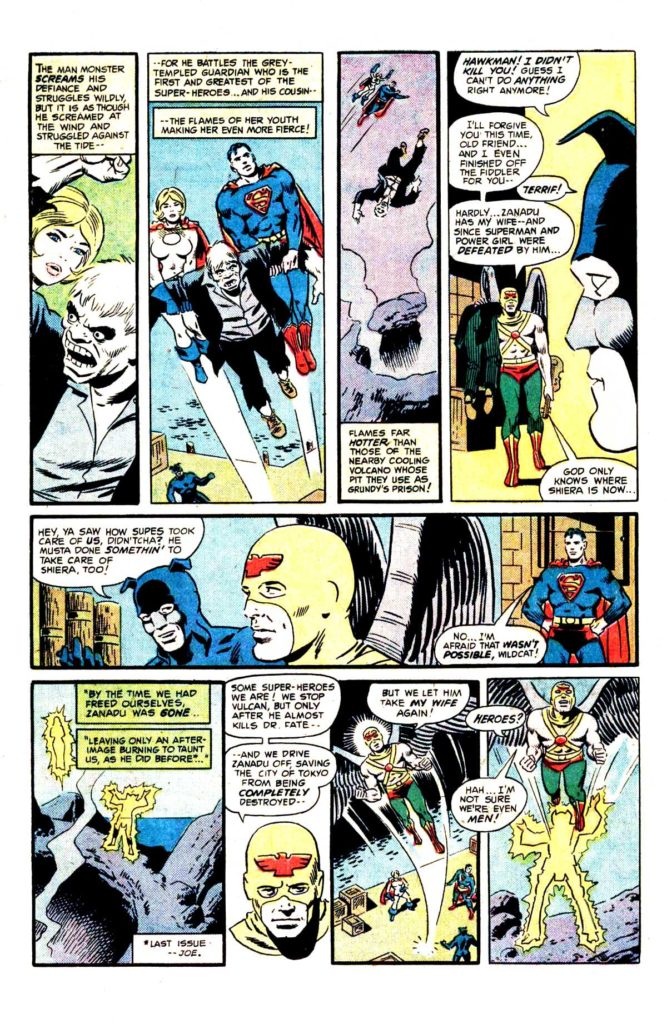 All Star comics 63 The death of doctor Fate 7