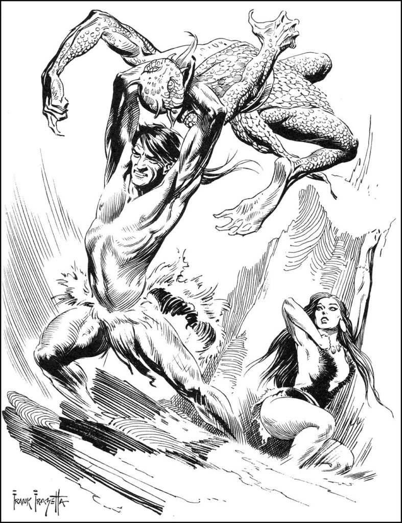 At The Earths Core by FRAZETTA 4