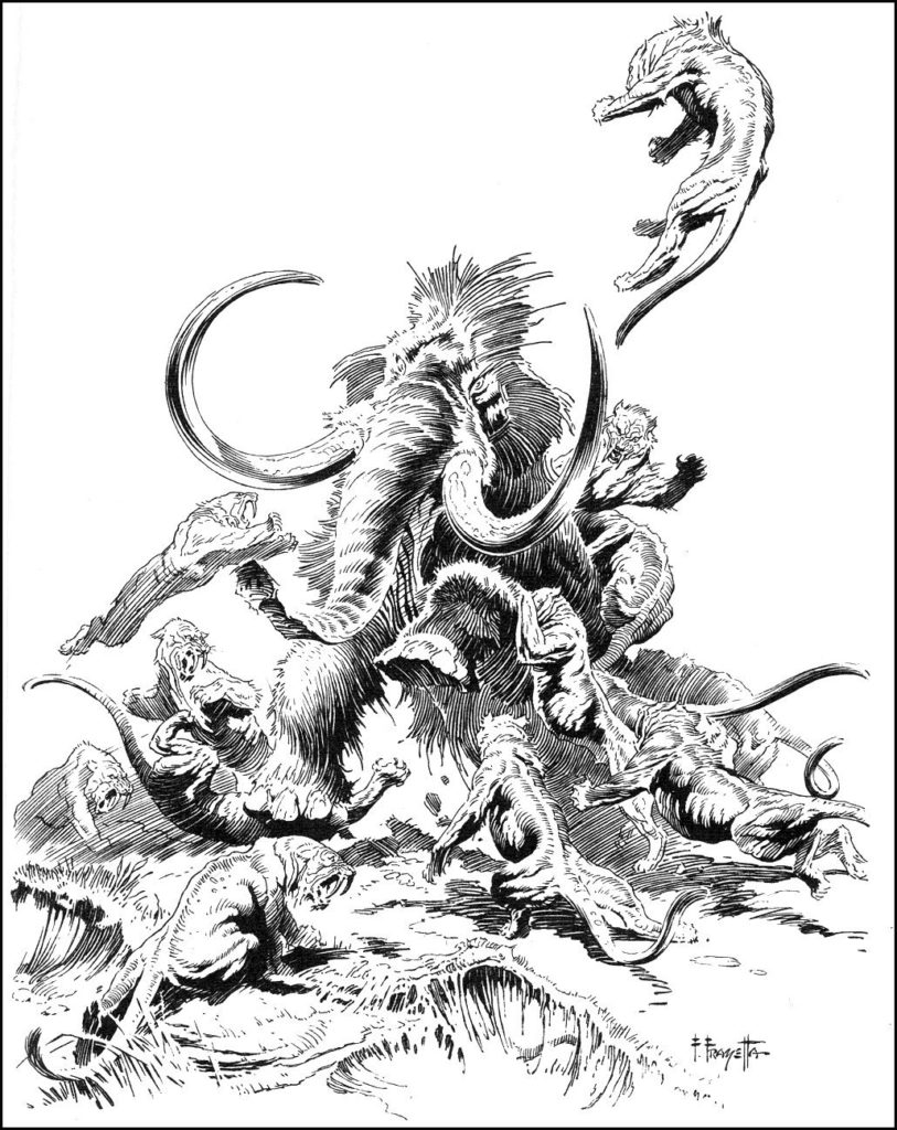 At The Earths Core by FRAZETTA 5