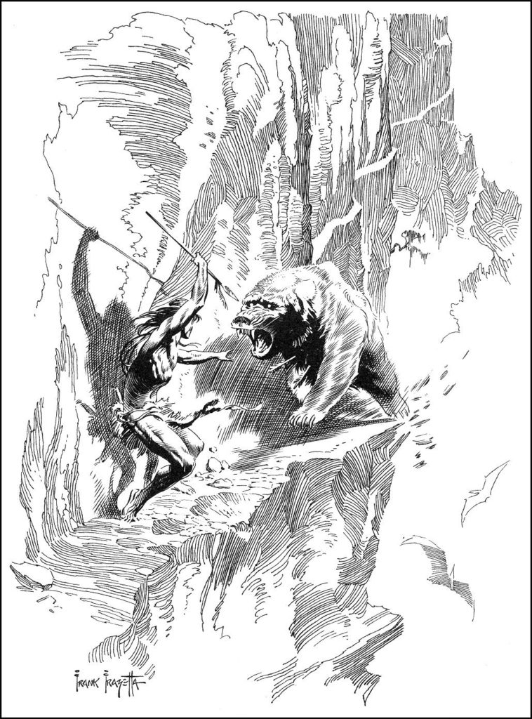 At The Earths Core by FRAZETTA 9