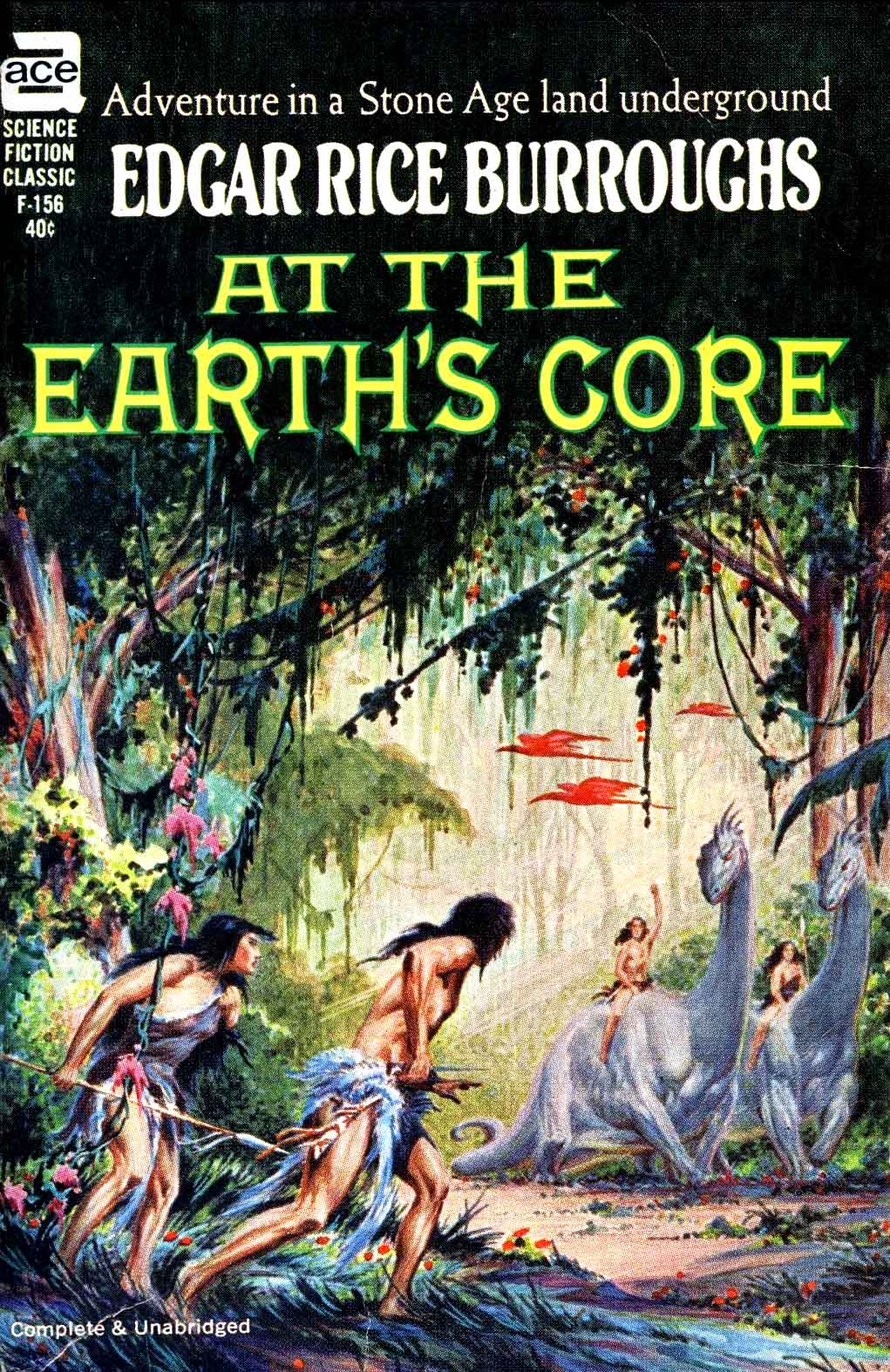 At The Earth's Core by Ray Krenkel, Jr, 1962
