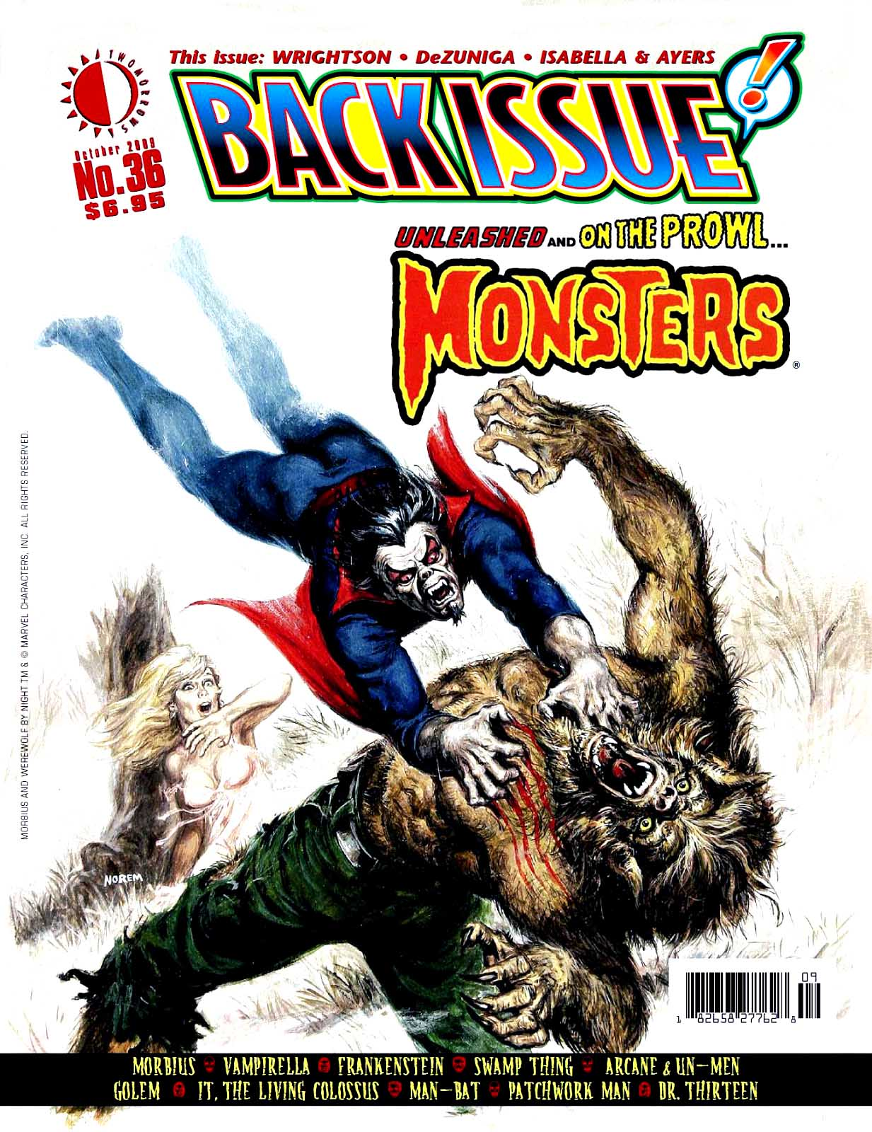 Back Issue #36 Wrightson