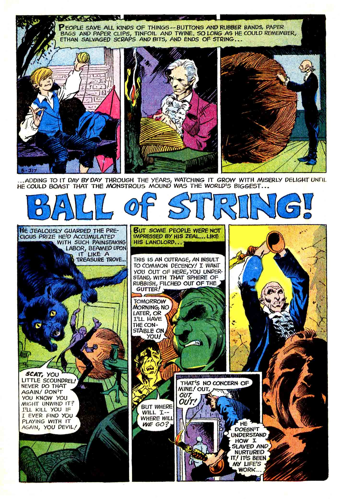 Ball of String! from The Unexpected  #116