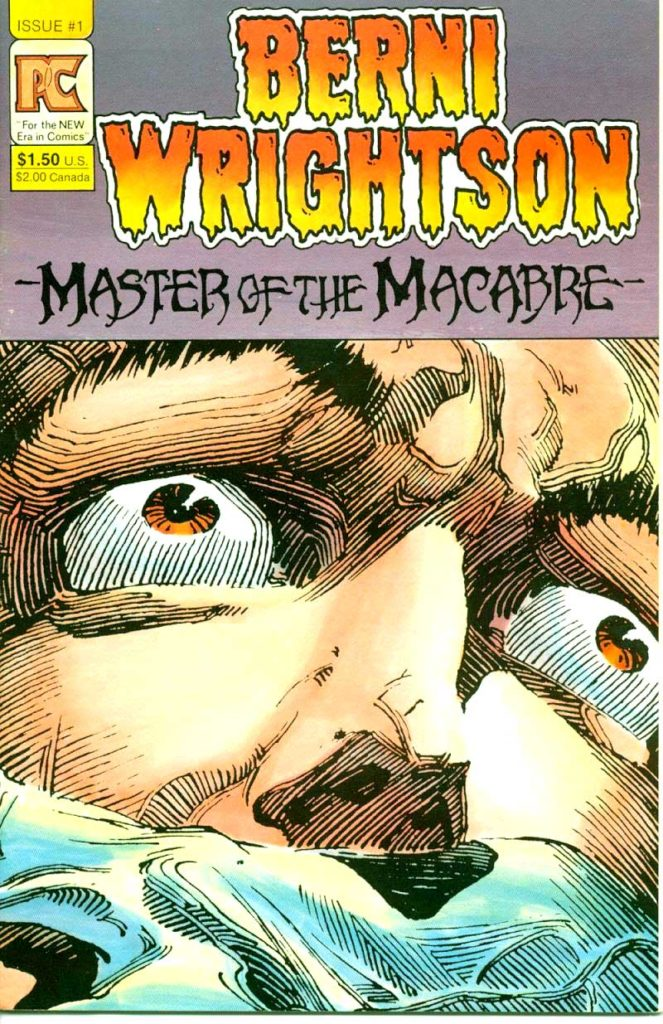 Berni Wrightson Master of the Macabre 1 The Muck Monster 1
