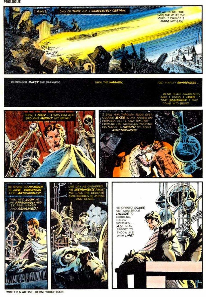 Berni Wrightson Master of the Macabre 1 The Muck Monster 2