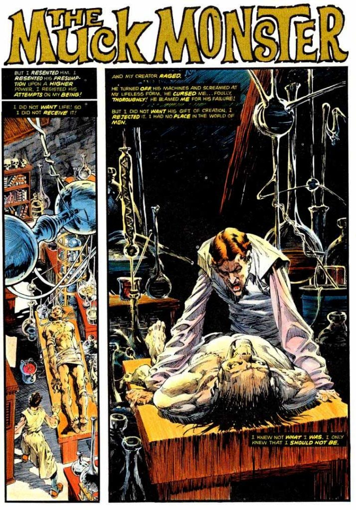 Berni Wrightson Master of the Macabre 1 The Muck Monster 3