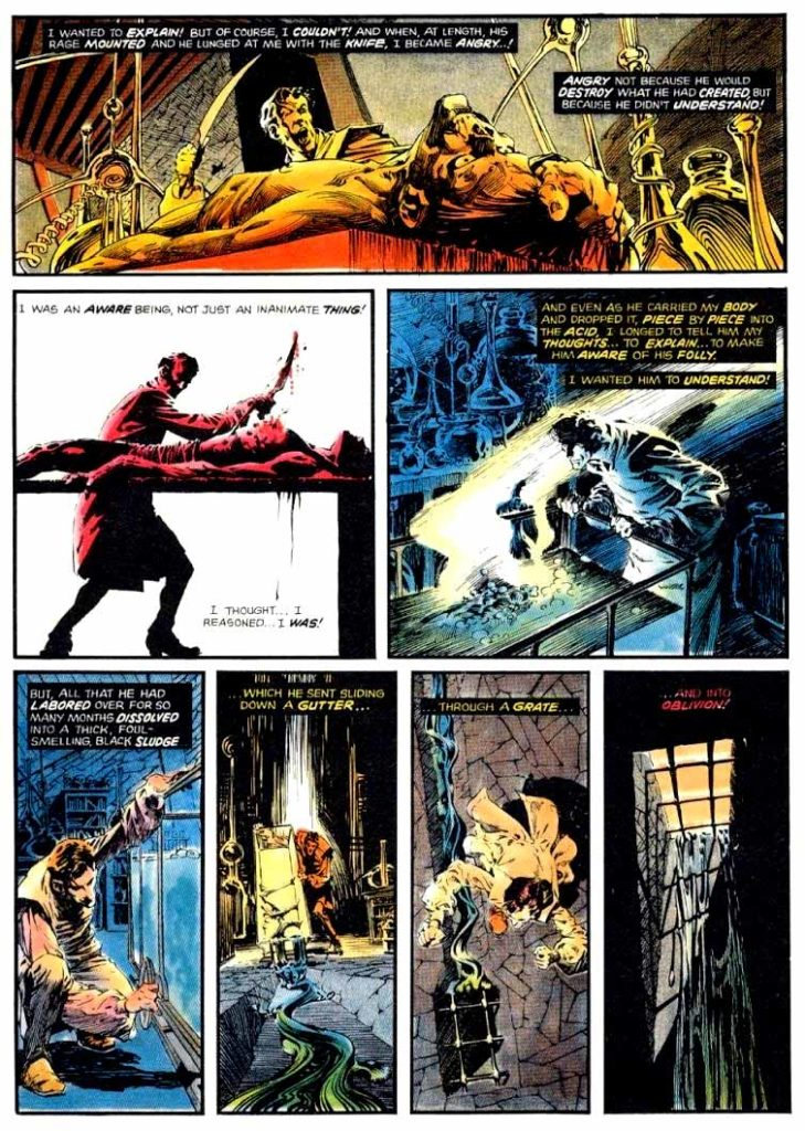 Berni Wrightson Master of the Macabre 1 The Muck Monster 4