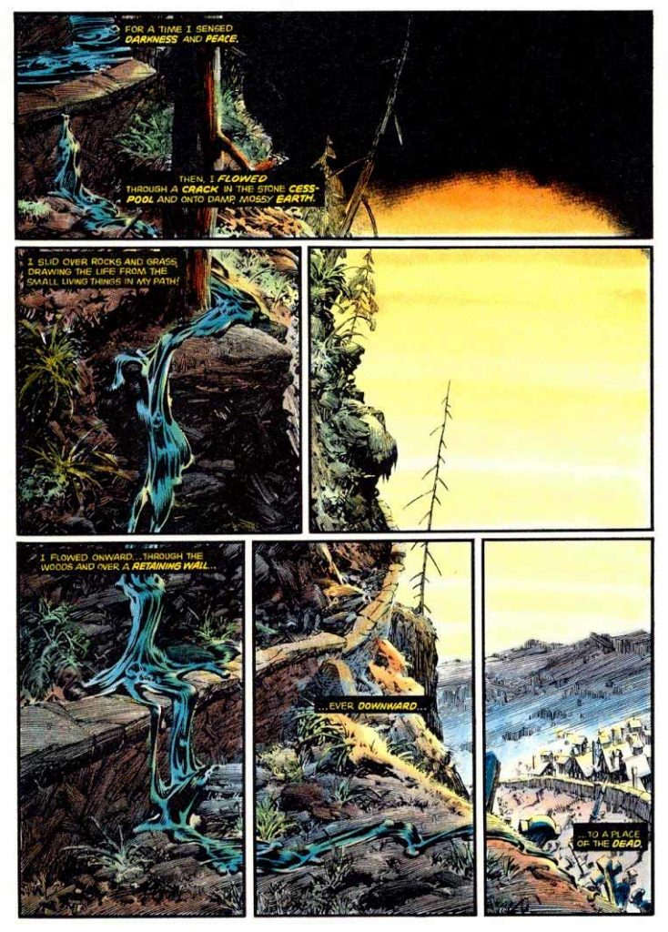 Berni Wrightson Master of the Macabre 1 The Muck Monster 5