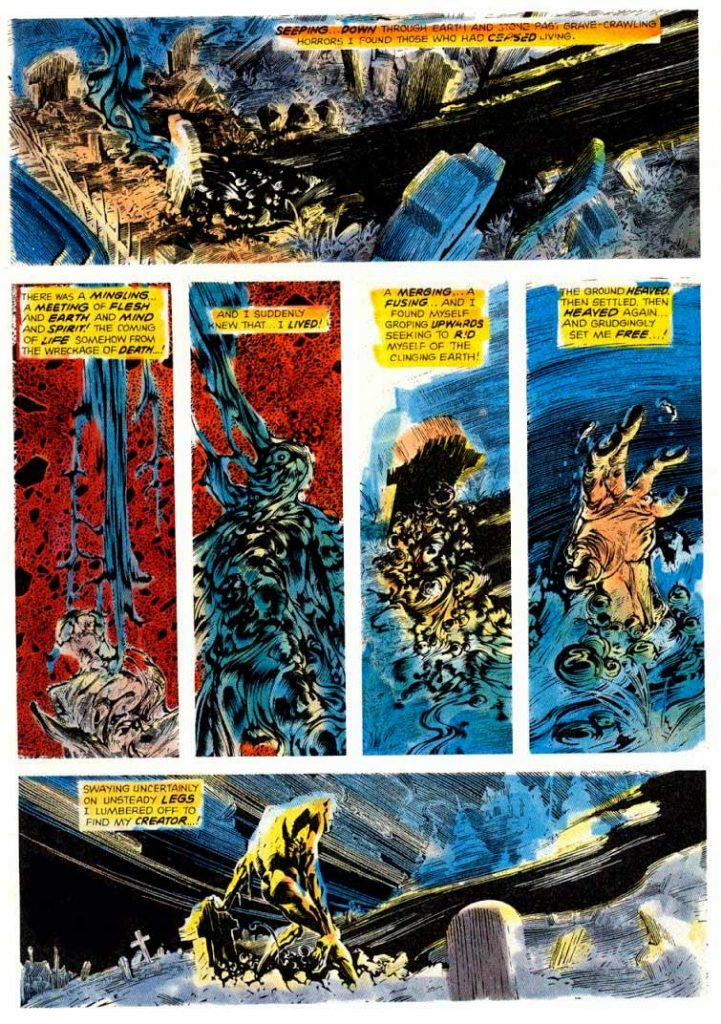 Berni Wrightson Master of the Macabre 1 The Muck Monster 6