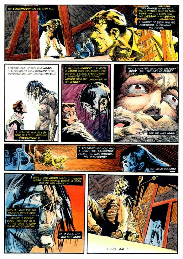 Berni Wrightson Master of the Macabre 1 The Muck Monster 7