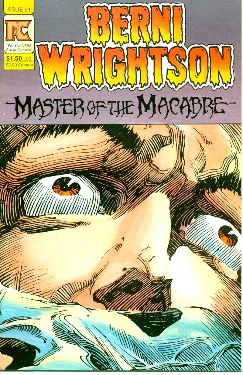 Bernie Wrightson Master of the Macabre #1 The Pepper Lake Monster