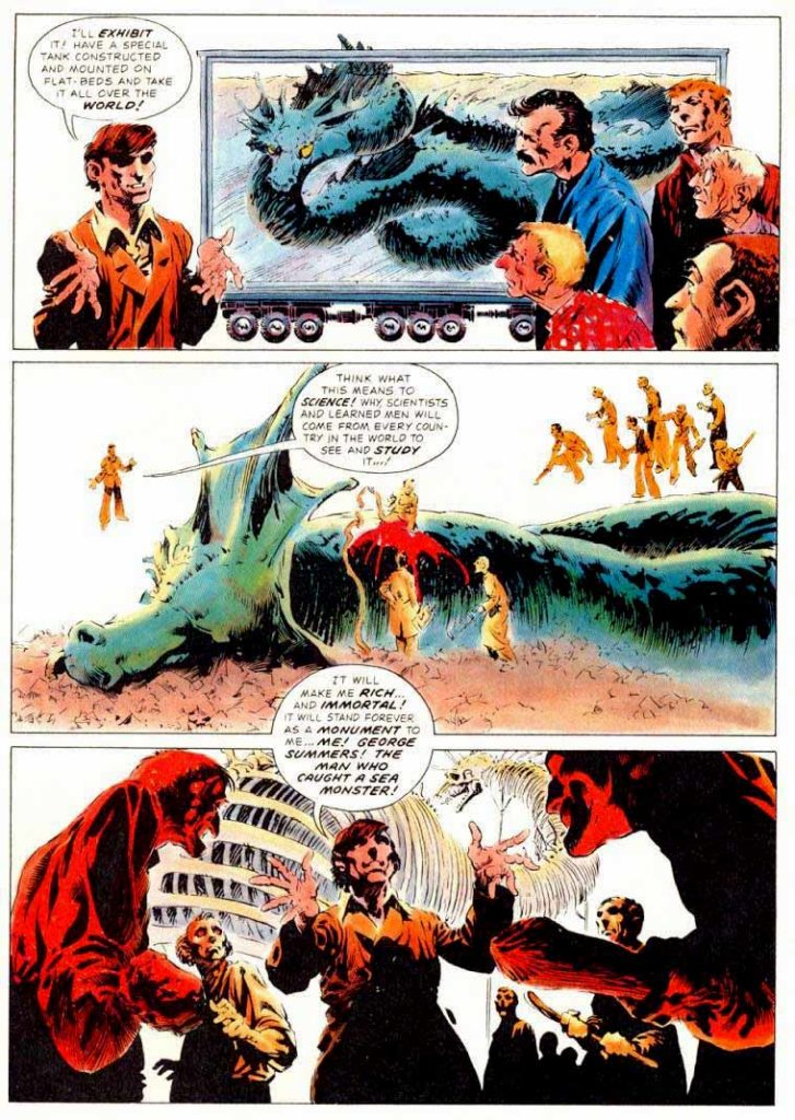 Berni Wrightson Master of the Macabre 1 The Pepper Lake Monster 10