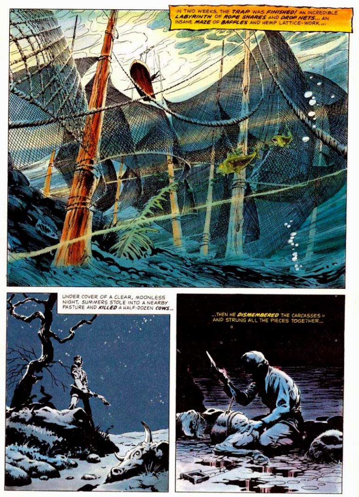 Berni Wrightson Master of the Macabre 1 The Pepper Lake Monster 7