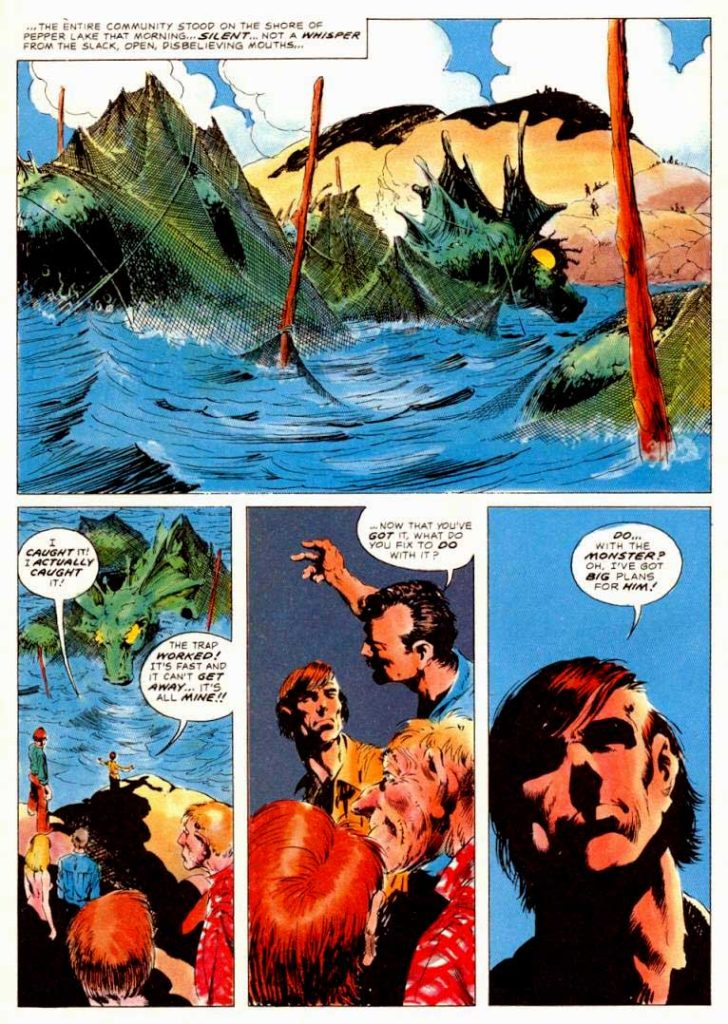 Berni Wrightson Master of the Macabre 1 The Pepper Lake Monster 9