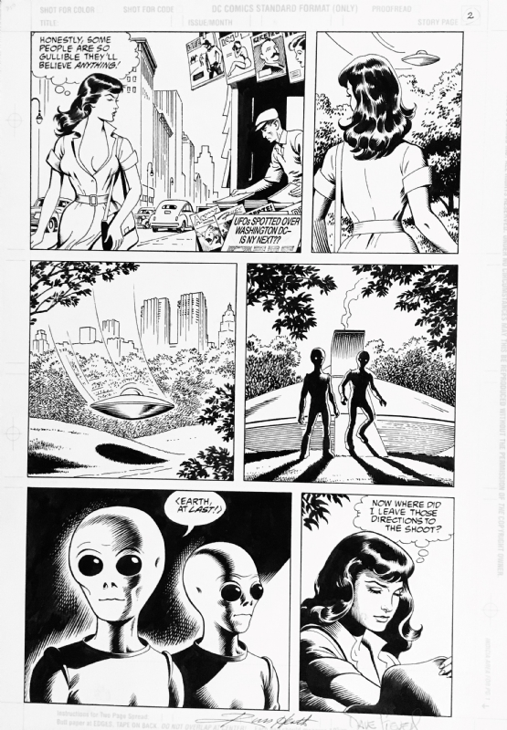 Bettie Page Comics 1 page 2 Dark Horse 1996