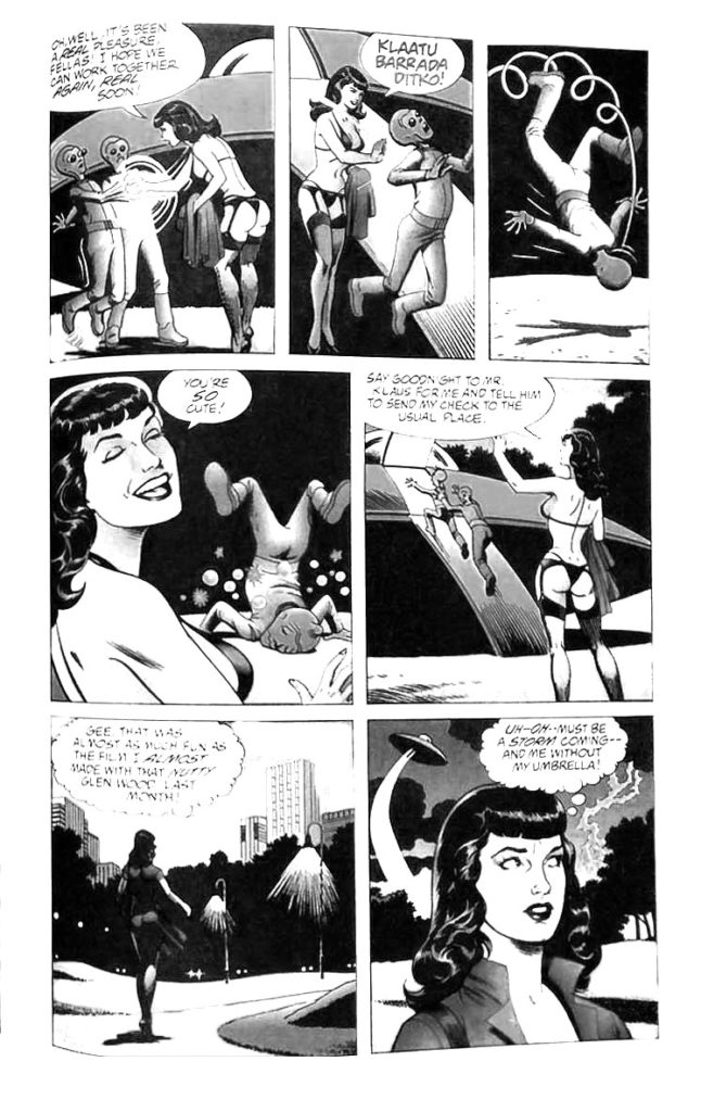 Bettie Page Comics 1 page 7 Dark Horse 1996