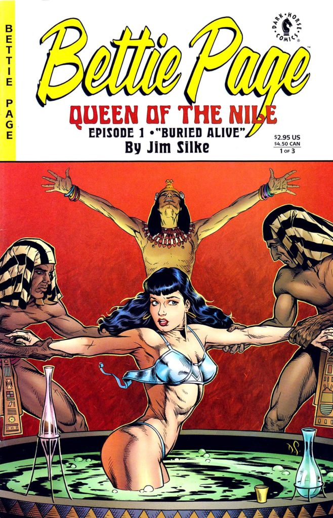 Bettie Page Queen of the Nile 1 1