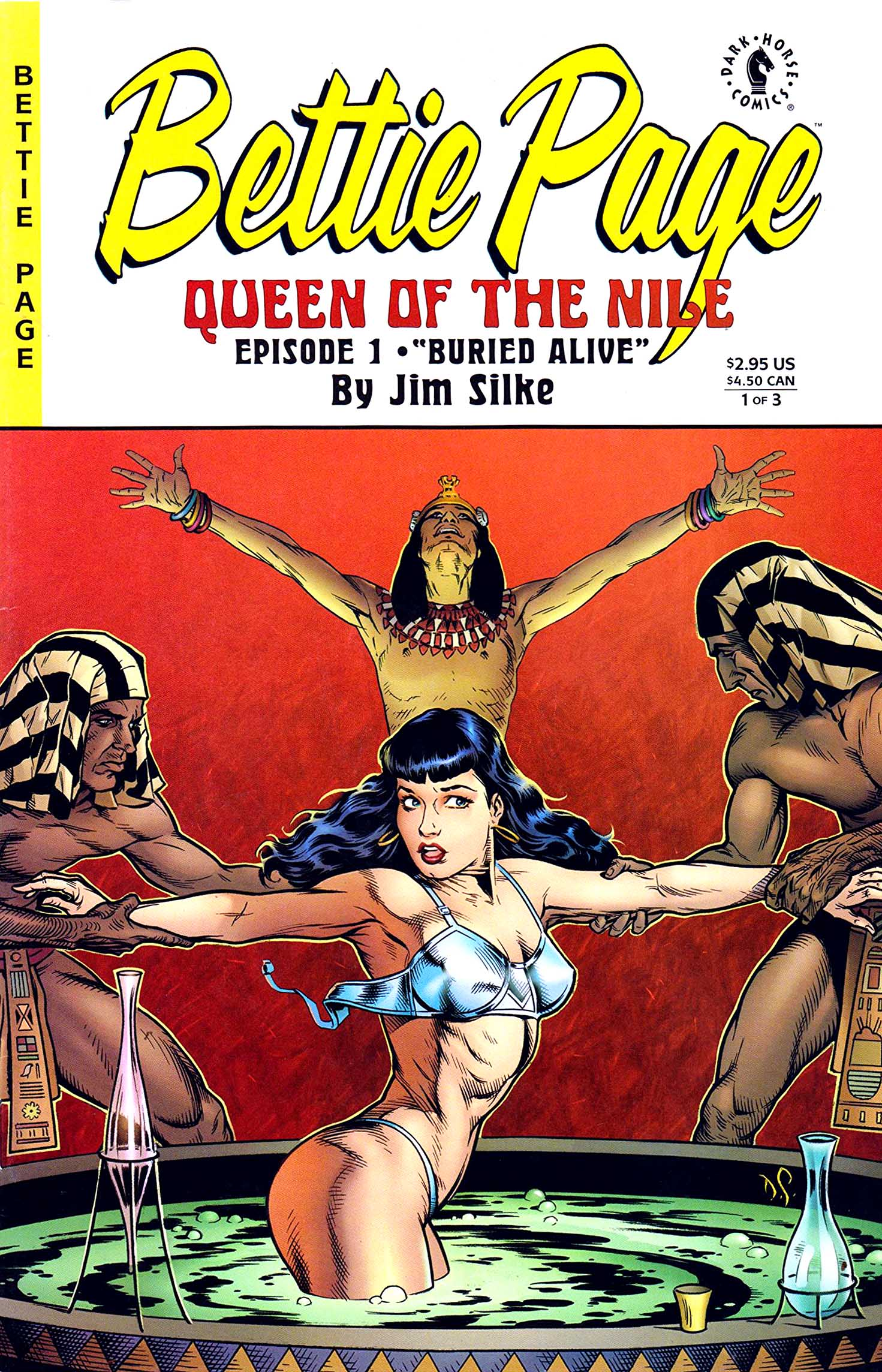 Bettie Page Queen of the Nile #1 (1999) by Jim Silke