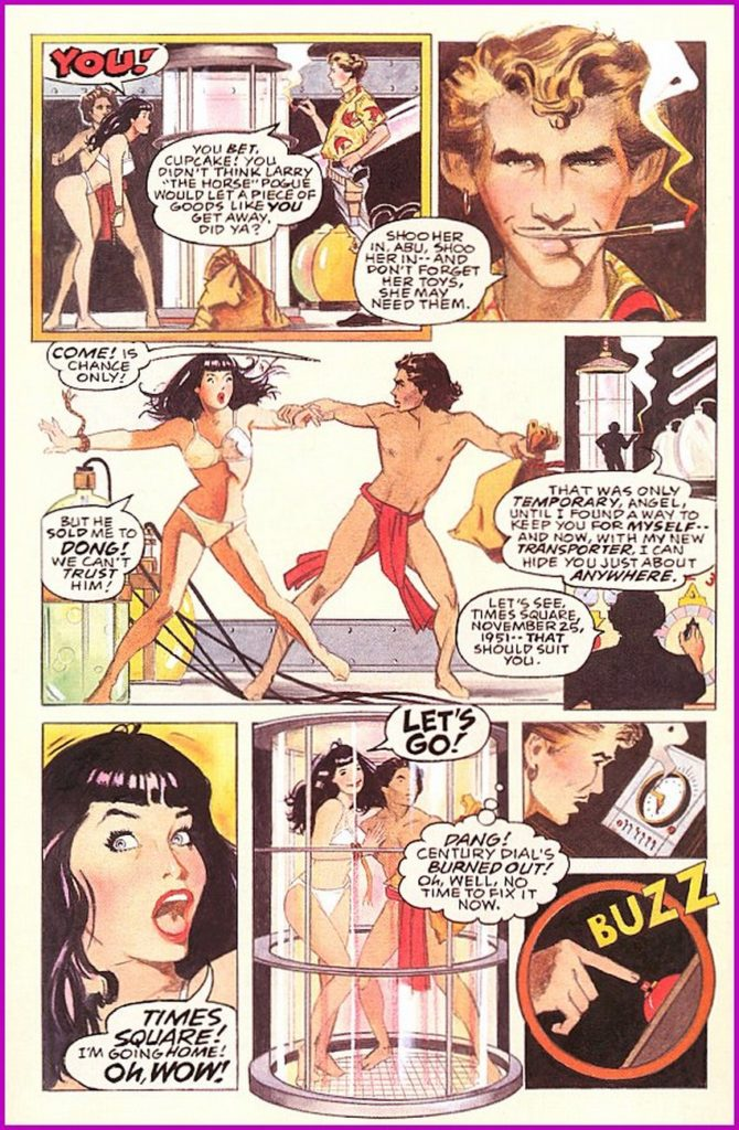 Bettie Page Queen of the Nile 1 5