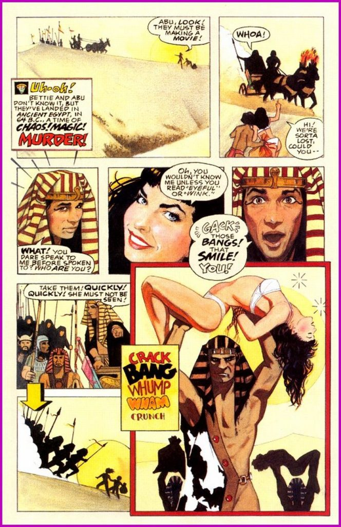 Bettie Page Queen of the Nile 1 8