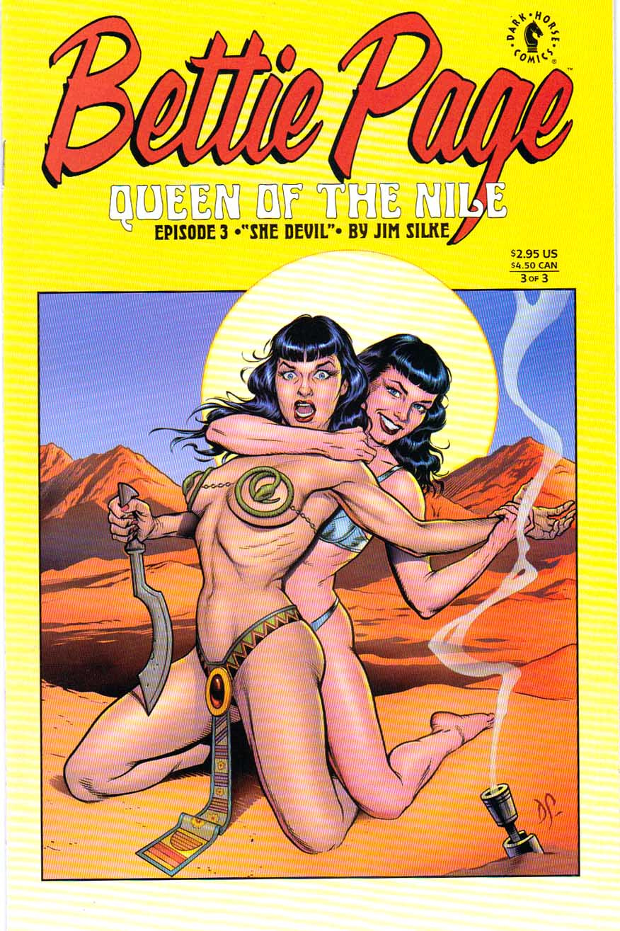 Bettie Page Queen of the Nile #3 by Jim Silke