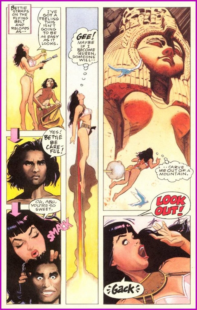 Bettie Page Queen of the Nile 3 10