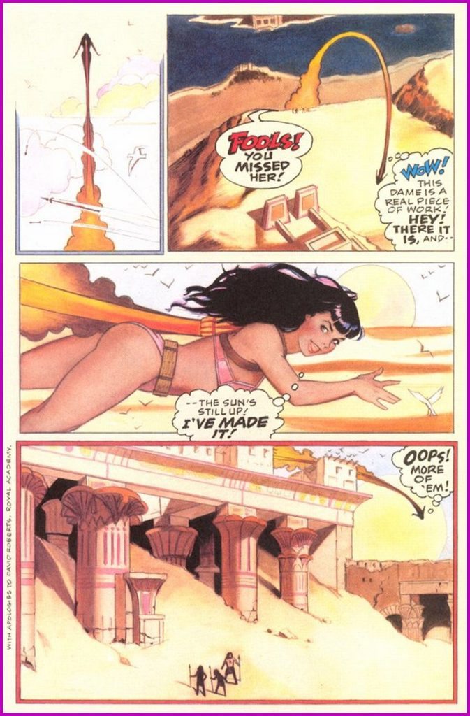 Bettie Page Queen of the Nile 3 14