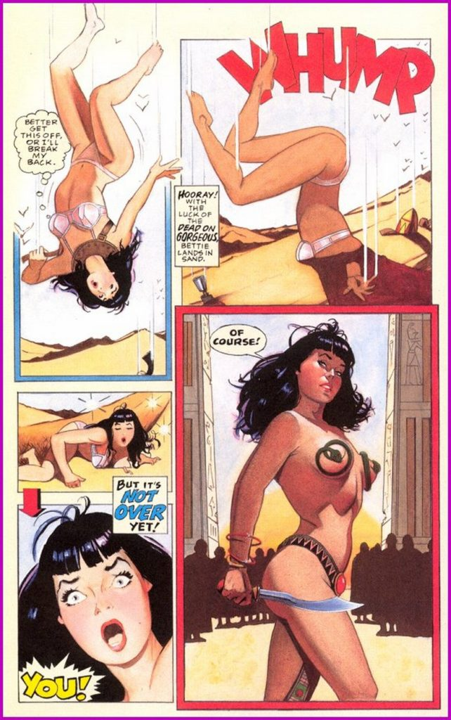 Bettie Page Queen of the Nile 3 17