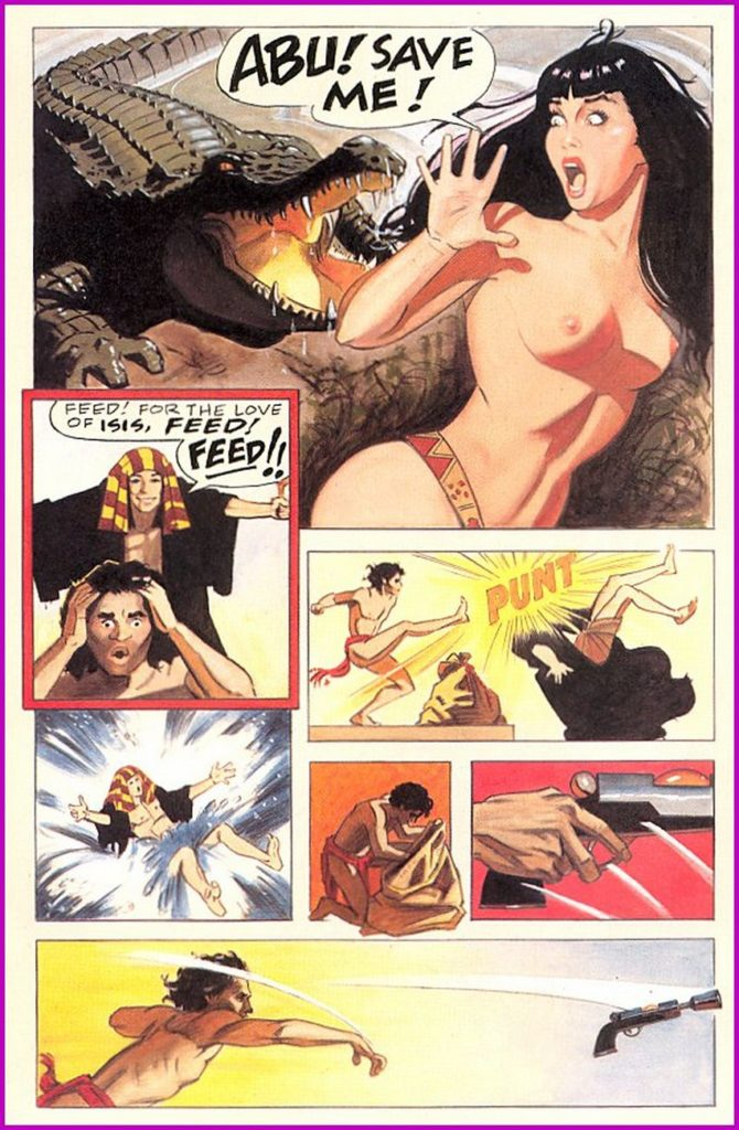 Bettie Page Queen of the Nile 3 4