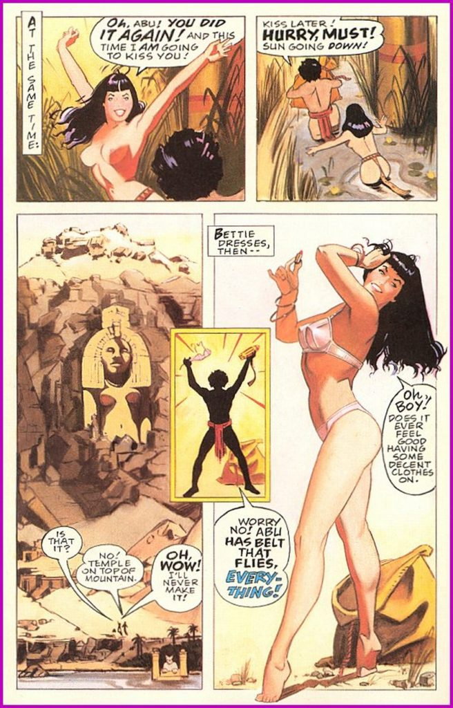 Bettie Page Queen of the Nile 3 9
