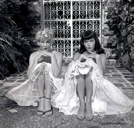 Bettie Page and Bunny Yeager Miami 3