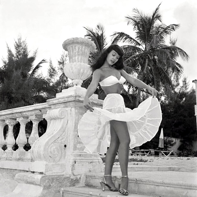 Bettie Page and Bunny Yeager Miami 7
